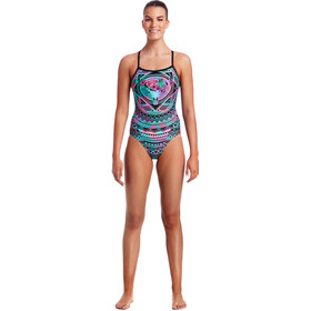 Funkita Single Strap One Piece Swimsuit Ladies Crown Princess